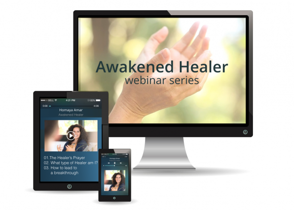 Awakened healer webinar is a 3 recorded sessions for energy healers